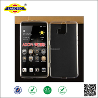 clear transparent TPU Gel Case for ZTE Axon mini , crystal tpu case