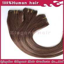 World Best Selling Products Chocolate Hair Weft Eurasian Human Hair Extensions In New York