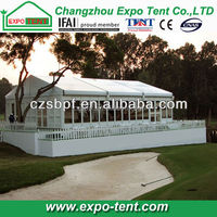 aluminum structure heated party glass wall tent