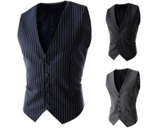 RT Free shipping 2015 new arrival Men's Vests sleeveness slim fit casual Vests men 3 color M-XXL A8732