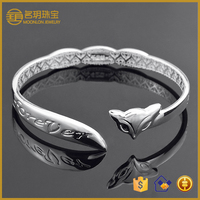 Factory direct sales 2015 fashion bracelet bangle jewelry 925 sterling silver