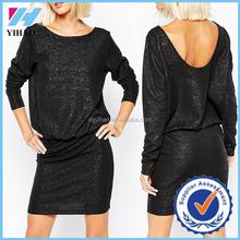 Clothing online shopping new ladies dress long sleeve mature women dress
