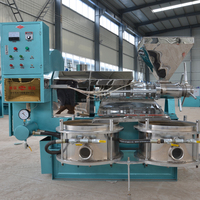 2015 China engineer available food industry sesame full automatic screw oil press machine for individual home processing