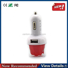 Promotional Portable Dual Usb Car Charger For Car For Laptop And Mobile With 12v Socket