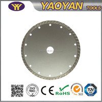 General Purpose Diamond Dry and Wet Cutters Diamond Turbo Saw Blade for marble, granite, concrete, stone