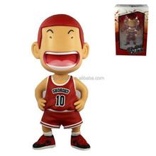 "NIB Chaoer Slam Dunk Sakuragi Hanamichi Shohoku 10 Basketball 6.7"" Toy Action Figures"