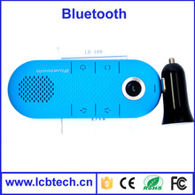 wireless hands free Bluetooth Car Kit Headset connect 2 phones simultaneously