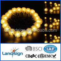 mini led solar small ball string light outdoor led solar string light garden Christmas decoration light lamp