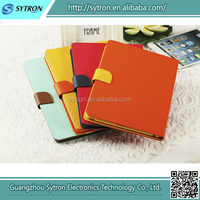 2014 new leather wrap leather protection cover case for iPad mini 2 accessories