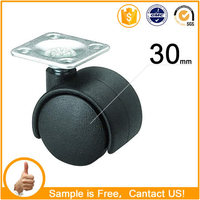 1inch High quality and cheap caster wheel for sofa 30-t