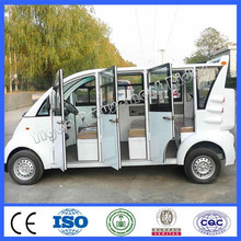 2015 very cheap cars from china electrical vehicle 8 seats closed iron shell cruiser car