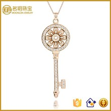 2015 new trendy key pendant necklace meaning hot sale