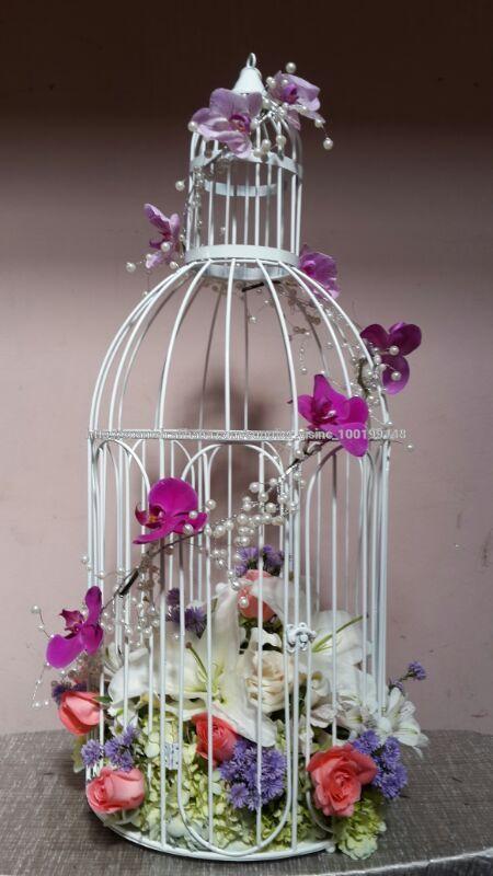 Jaulas Decoracion Venta ~ La decoraci?n vela jaula pilar titular para la boda partido hotel
