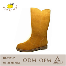 new designer girls boots brand snow boots good quality warm leather winter boots knee high boots girls