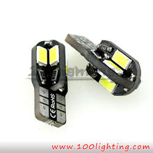 High Quality LED lamp type and 12 Volt T10 8SMD 5730 canbus car led lamp