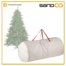 SANDOO polypropylene white christmas tree bag,Tree storage bag