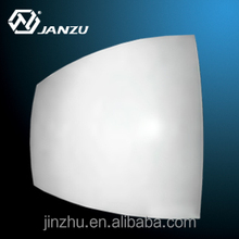 Aluminum curved panel for roof, curved aluminum panel roof, aluminum dome roof
