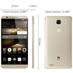 Huawei SmartPhone Ascend Mate7 6.0 inch IPS Screen EMUI 3.0 Android Smart Phone(Gold)
