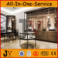 High and luxury jewelry/watch store interior design for shop decoration