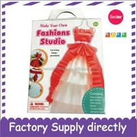 Make Your Own Fashion Paper Dress Kit, DIY Fashion Dress