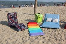 beach folding chair sun loungers foldable mat