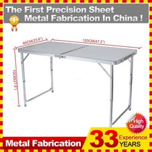 Folding Steel Table Frame 120cm Portable Indoor Outdoor Picnic Party Dining Camp Tables 4ft