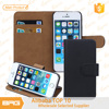 BRG Free Shipping Cheapest Wallet Leather Case Cover for iPhone 5/5s with Card Slot and Stand Function