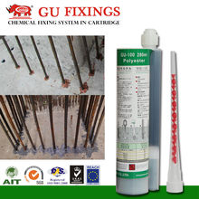 High temperature resistance epoxy resin construction adhesive
