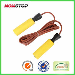 training accessories/Weight Leather jump rope /fitness equipment