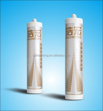 Silicone sealant caulk for fire resistance