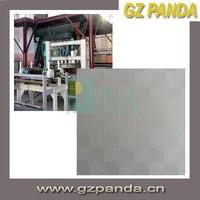 Multiple Designs PVC Face And Aluminum Foil Back Gypsum Ceiling