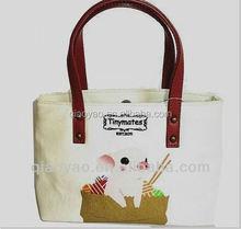2015 Hot Sell popular digital printing canvas bags