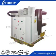 ZN63A(VS1) 12KV HV Indoor Handcart Type Vacuum Circuit Breaker VCB with KYN28 switchgear
