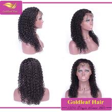 2016Hot new products wholesale fashion brazilian virgin human hair half wig
