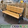 Outdoor plastic wood bench