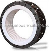 PTFE linear rubber expansion joint food pharmacetical grade