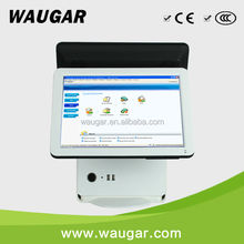 NEW ! Factory price 15'' Dual touch screen restaurant pos terminal