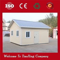 well designed anti-knock whole metal steel prefab house