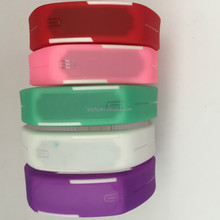 Fashion trend of South Korea waterproof jelly female student couple boom male Bracelet electronic watches