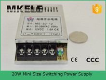 MS-20-5 20w 5v mini size power supply switching power supply small type miniature switching power supply