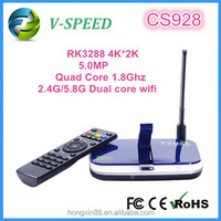 android smart tv box 4k 1080P HD japanese porn rk3288 CS928 bluetooth wifi xbmc H.265decoding