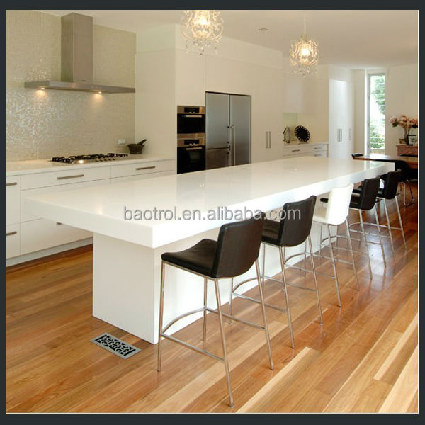 High Quality White Simple Kitchen Furniture Small Bar Counter Designs For Kit