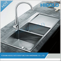 2014 New Design Stainless Steel Kitchen Sink Wash Basin