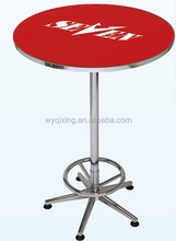 QXBT-022 Bar Table with MDF and Logo high quality