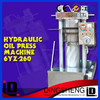 Automatic hydraulic oil extruder machine for sesame,cocoa bean