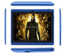 1024x600 tablet 7 inches Android Kitkat 4.4 , Allwinner A33 quad core mini pc for kids
