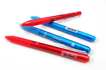 0.5 gel roller ball pen,erasable click pen,Eco Friendly Ink Eraser Pen