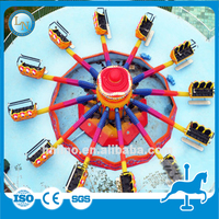 Adults hot park attractions family thrilling game rides Jumping Machine for sale