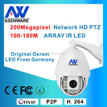 Outside Camera IP66 Rotate 180m Long Time Continuous Working
