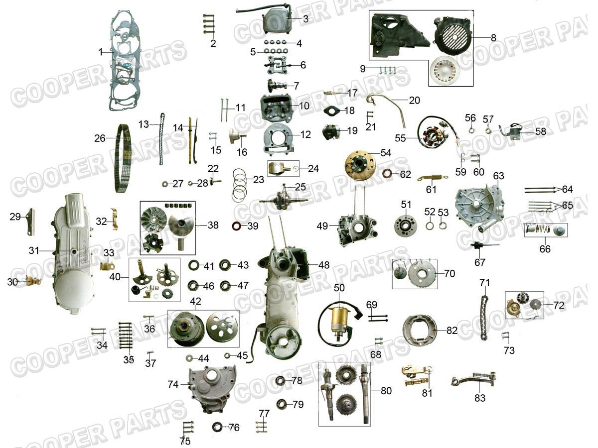 Gy6 150cc Engine Repair Diagrams Wiring Honda 150 Diagram Atv 110cc 4 Pin Free Image For Manual Carter